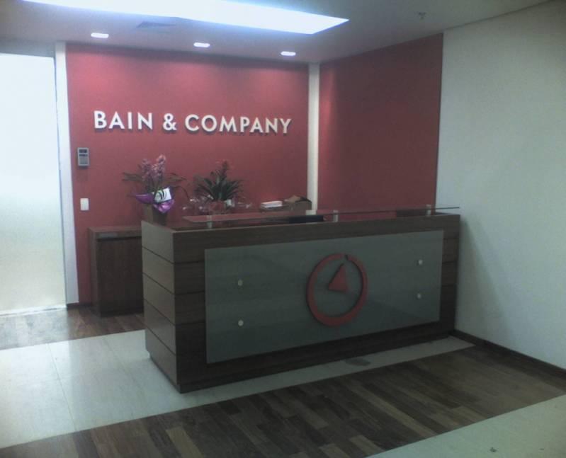 Onde Encontro Móveis para Recepção de Empresa Osasco - Móveis para Recepção de Condomínio