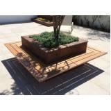 onde encontrar móveis de madeira para área externa Jardim Bonfiglioli