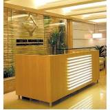 onde encontrar móveis planejados para recepção de escritório Santos